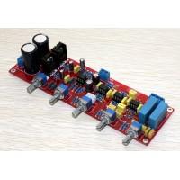 Assembled NE5532 2.1 Preamp Board