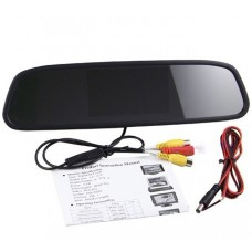 4.3inch TFT LCD Digital Car Kit Rearview Mirror Monitor