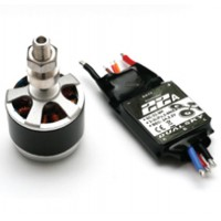 DUALSKY XM2830CA-Hornet 830RPM/V Motor + XC-22-Lite Thro Optimized for Hornet 460