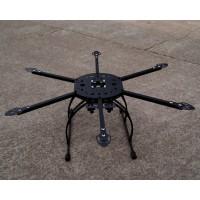 S650-V2 FPV Fiberglass Hexacopter Folding DIY X-Craft Frame + Landing Skid