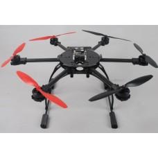 AH500C Carbon Fiber ARF Hexacopter Airframe with Flight Control Motor ESC