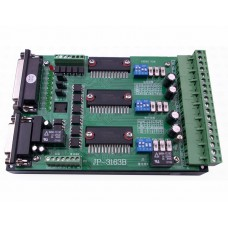 JP-3136B Stepper Motor Driver TB6560 3 axis for CNC Engraving Machine with 0-10V Spindle Regulation