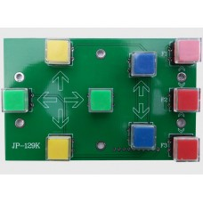 Keypad for JP-3163A Stepper Motor Driver Board & Signle Chip