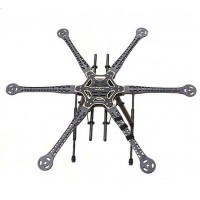TX-S800 FPV HexaCopter Multirotor Aircraft FPV Multicopter Frame Kit DJI Compatible