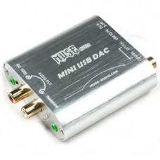 MUSE Mini 24Bit 192Khz Coaxial Optical USB Input DAC Headphone Out Silver