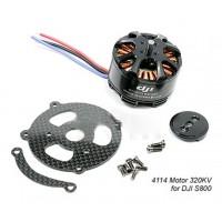 DJI 4114 320KV Brushless Motor Special for S800 Spreading Wings Hexacopter Motor
