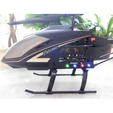 S688 2.4G 3.5 Channel Gyroscope Helicopter with LCD Display Transmitter-Black