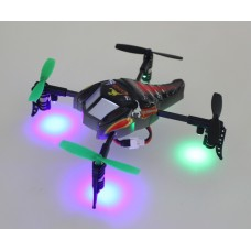 WLtoys V202 Beetle 4CH 2.4G 4-Axis Quadcopter UFO RTF Combo 3D Tumbling Flying Saucer V911 Upgrade Version