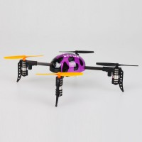 WLToys V939 Beetle ladybird 4CH RC 2.4Ghz 4-axis 3D Mini Heli XCopter Quadcopter - Purple