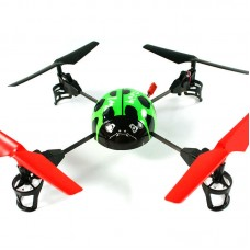 WLTOYS V929 Beetle 4CH RC 2.4GHZ 4-Axis Aircraft UFO Quadcopter 3D Flying Orange/Green/Blue
