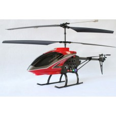 S688 2.4G 3.5 Channel Gyroscope Helicopter with Transmitter-Red(Standard Package)
