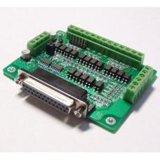 CNC DB25 Breakout Board Adapter MACH3 KCAM4 EMC2 6 Axis
