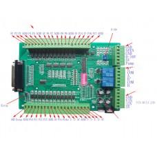 CNC Breakout Board Mach3 EMC2 DB25 Interface Board