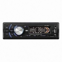 STC-1009U Car MP3 Player with USB/SD/MMC Card/Real-time Clock Function and LCD Display