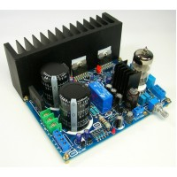 Tube 6N3 Preamp TDA7294 Power Amplifier Kit DIY 80W x2