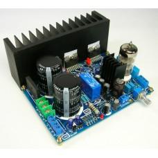 Tube 6N3 Preamp TDA7294 Power Amplifier Kit DIY 80W x2