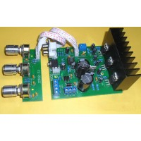 Overweight Bass Finished Subwoofer TDA2030A 2.1 3-channel Amplifier Board