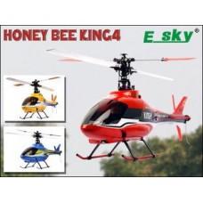 Esky Honey Bee King 4 6CH CCPM RC Helicopter RTF 2.4GHz  w/Aluminium Case 002798
