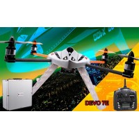 Walkera New QR X400 with DEVO 7E 6-Axis-Gyro UFO Quadcopter RTF with Aluminum Case 2.4Ghz (Upgraded Version of MX400S)
