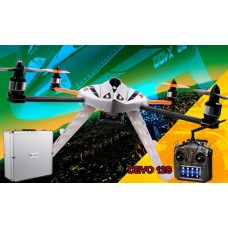 Walkera New QR X400 with DEVO 12S 6-Axis-Gyro UFO Quadcopter RTF with Aluminum Case 2.4Ghz