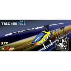 ALIGN T-REX 450 Plus DFC Super Combo RH45E01XW 6CH Flybarless Helicopter RTF 2.4 Ghz