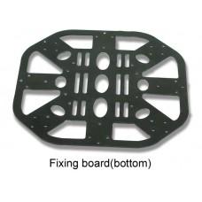 Fixing board bottom for Walkera QR X400  UFO-MX400-Z-05