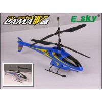 Esky Lama V4 4CH Coaxial RC Helicopter RTF 2.4GHz 000006-Silver