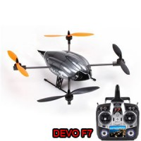 Walkera Hoten-X With DEVO F7 FPV Transmitter 6-Axis gyro 3D Quadcopter UFO RTF 2.4GHz