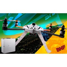 Walkera New QR X400 BNF 6-Axis-Gyro UFO Quadcopter without Transmitter with Aluminum Case (Upgraded Version of MX400S)