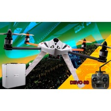 Walkera New QR X400 with DEVO 8S 6-Axis-Gyro UFO Quadcopter RTF with Aluminum Case 2.4Ghz (Upgraded Version of MX400S)