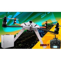 Walkera New QR X400 with DEVO 7 6-Axis-Gyro UFO Quadcopter RTF with Aluminum Case 2.4Ghz (Upgraded Version of MX400S)