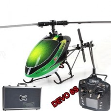 Walkera New V120D02S mini 3D RC helicopter RTF With DEVO 6S 6CH 6-Axis gyro (Include Aluminium case)