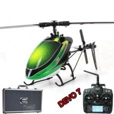 Walkera New V120D02S mini 3D RC helicopter RTF with DEVO 7 6CH 6-Axis gyro ((Include Aluminium case)