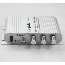 Lepy LP-808 Mini Hi-Fi Stereo Amplifier 20W X2 RMS Amp For Home Car Boat