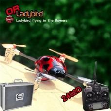 Walkera QR Ladybird with 2402D RC Quadrocopter 6-axis-Gyro mini 2.4GHz RTF (Include Aluminium case)