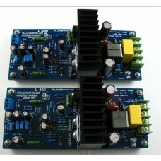 LJM- Hi-end L25D Stero Audio Power Amplifier Board IRS2092 IRFB4020PBF 250W 8ohm (Assembled Amp Board Include 2 bobards)