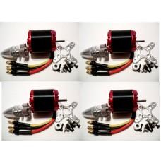 X N2830/2212 1000KV 270W 2-4S Brushless Motor Quad-Hexa copter