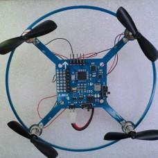 CJ V3 AVR328 10DOF 9-axis Micro MWC Flight Control 120mm Mini ARF Quadcopter