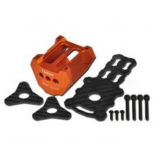 Tarot TL100B06-1 Dia 25mm Motor Mounting Set Holder for Octacopter-Orange
