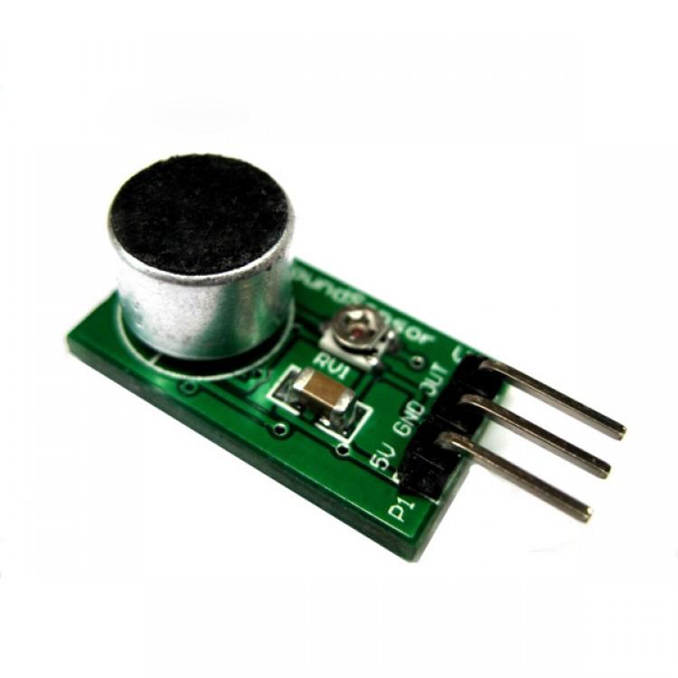 Arduino analog sound audio sensor board electret