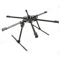 SkyFly-800 22mm Photography FPV Carbon Fiber Hexa-rotor Aircraft Strengthen Hexacopter Airframe Kit 800-850mm