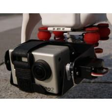 Two Axis Tilt/Pan Gopro Camera Gimble Mount PTZ for DJI Phantom Quadcopter