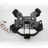 IDEA FLY 4S Single-Axis Tilt Camera Mount FPV PTZ-Carbon Fiber Version