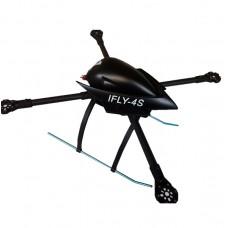 ARF RC Idea-Fly IFLY4S Foldable Quadcopter Carbon Fiber Aircraft Frame Kit