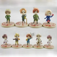 Hetalia One Coin Grande Figures set of 9 Japan anime Hetalia Axis Powers