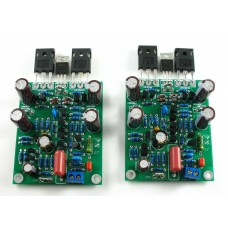 Class AB MOSFET L7 Audio Power Amplifier Finished Boards DUAL-CHANNEL 300-350WX2