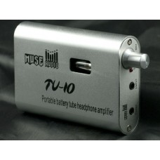 Muse TU-10 Portable Tube Headphone Amplifier Pre-amplifier/Built-in Lithium Battery/Tiny Tube Headphone Amplifier