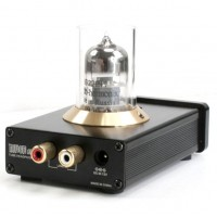 MUSE TU-20 Russia 6N11 Smallest Tube Preamp Headphone Amplifier -Black