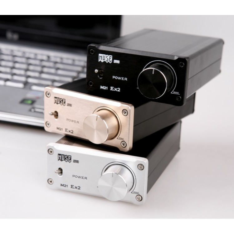 MUSE M21 EX TA2021 T-Amp Mini Stereo Amplifier 25WX2 Quality