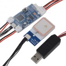 DIY Remzibi OSD Open Source OSD V1.79 10HZ GPS for Quadcopter FPV System gl